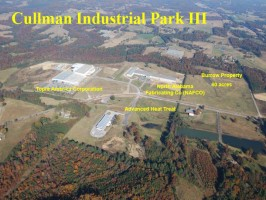 Industries in Cullman Industrial Park III