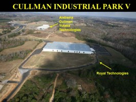 Industries in Cullman Industrial Park V