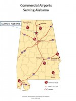Commercial Airports Serving Alabama