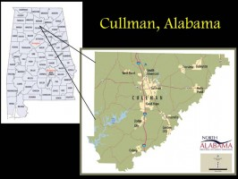 Cullman County Map
