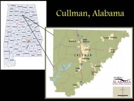Cullman County Map